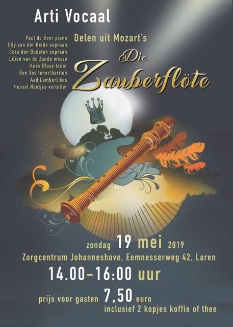 Opera Die Zauberflote    in Laren