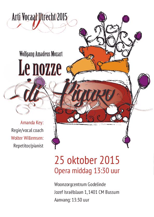 Operavoorstelling  Le nozze di Figaro 2015 25 oktober 2015