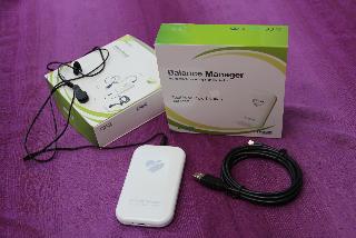 Balance Manager - Nieuwste HRV-biofeedback instrument met Nederlandse tekst en instelbare adembegeleider